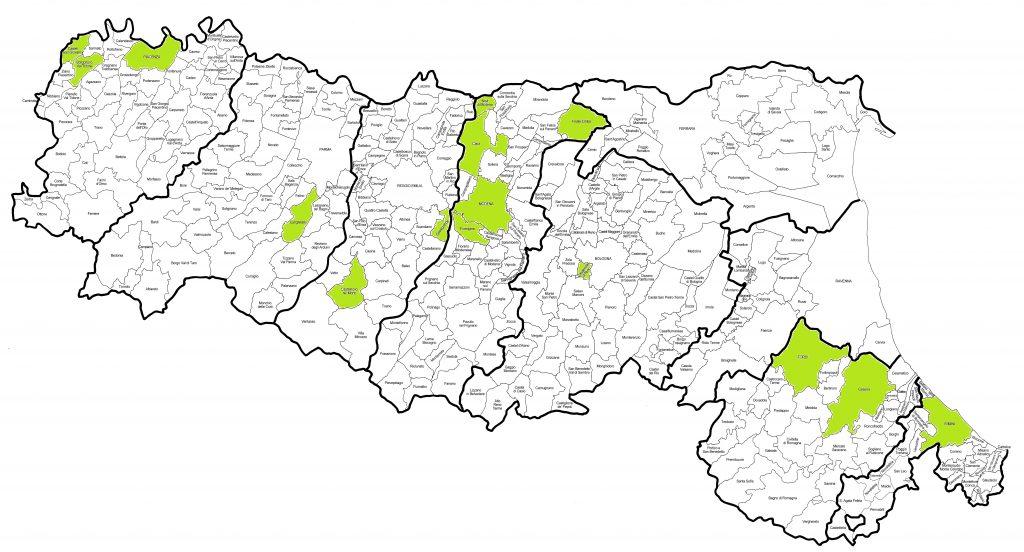 Cartina Comuni Emilia Romagna.Gioco D Azzardo E Usura Mafie Sotto Casa